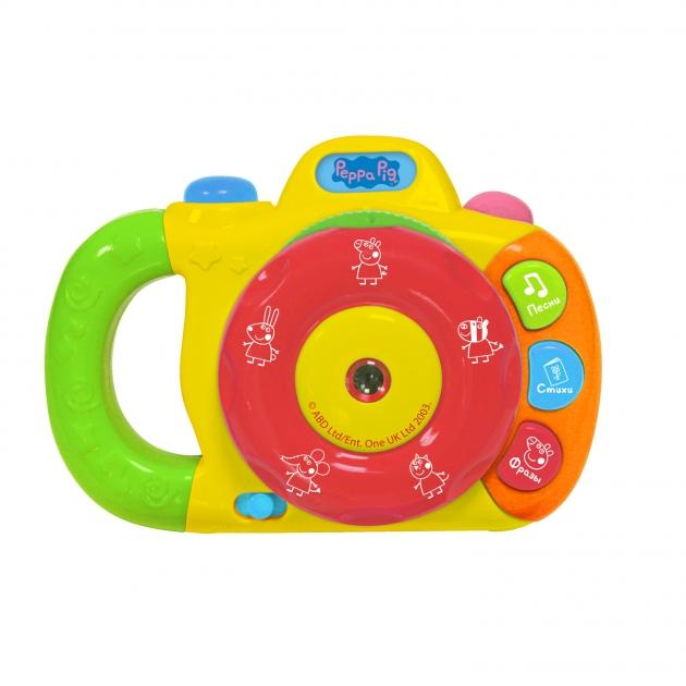 Музыкальный фотоаппарат с проектором Свинка Пеппа 2 Intertoy 35008