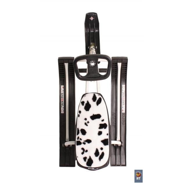 Чехол меховой на снегокат r toys оксфорд далматин 2711