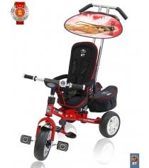 Велосипед 3х колесный deluxe RT new design 2014 красный 4003...