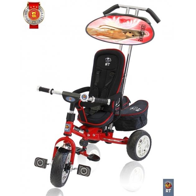 Велосипед 3х колесный deluxe RT new design 2014 красный 4003