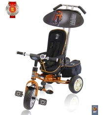 Велосипед 3х колесный deluxe new RT design 2014 золото 4004...