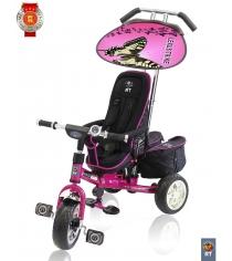 Велосипед 3х колесный deluxe new RT design 2014 розовый 4006...