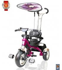 Велосипед 3х колесный grand RT print колеса eva розовый 4010...