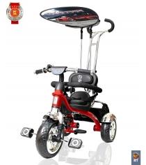 Велосипед 3х колесный grand RT print колеса eva красный 4028...