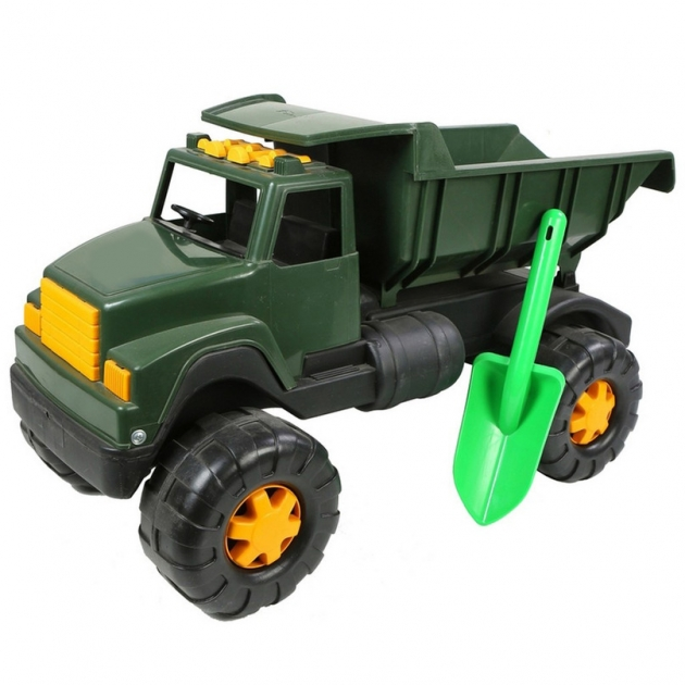 Автомобиль интер big военный лопата хаки 5329
