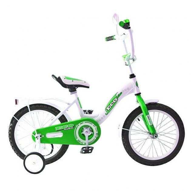 Велосипед 2х колесный RT aluminium ba ecobike 14 1s зеленый kg1421 5413