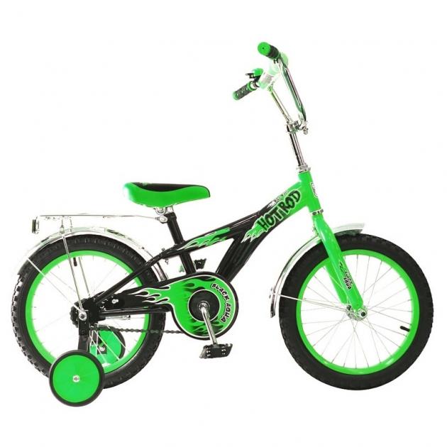 Велосипед 2х колесный RT ba hot rod 16 1s зеленый kg1606 5424