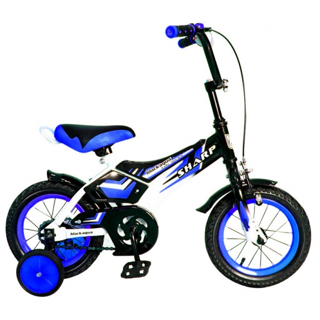 Велосипед 2х колесный RT ba sharp 12 1s синий kg1210 5432