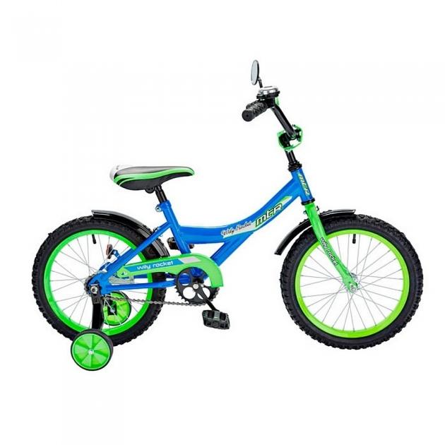 Велосипед 2х колесный RT ba wily rocket 12 1s синий 5550