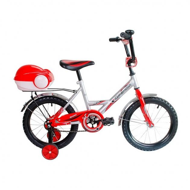 Велосипед 2х колесный RT мультяшка френди 1601 16 1s красный 5555