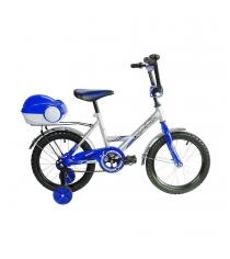 Велосипед 2х колесный RT мультяшка френди 1601 16 1s синий 5556