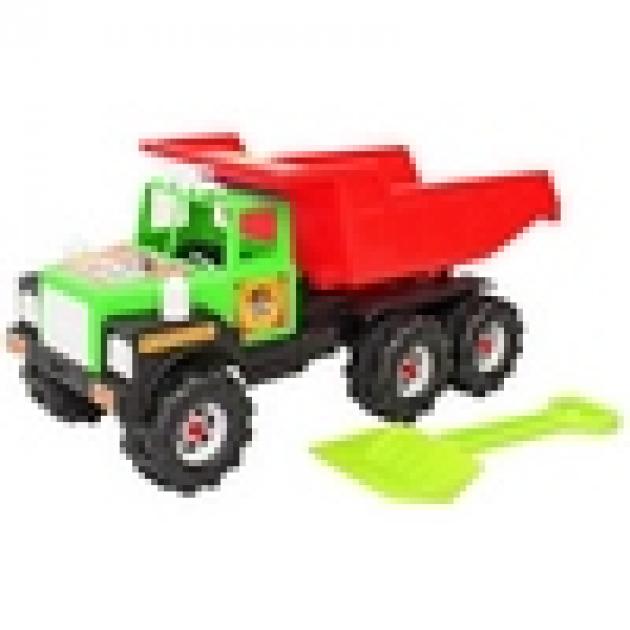 Машина ман лопата зелено красный 5743