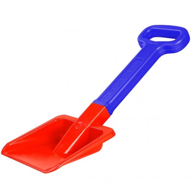 Лопата большая RT orion пластик с ручкой красный синий 6269