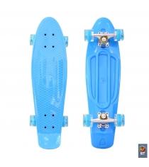 Скейтборд classic RT 22 56x15 yqhj 11 пластик голубой 171201 6436...