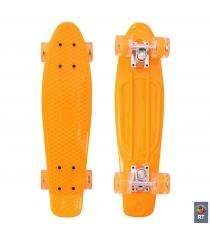Скейтборд classic RT 22 56x15 yqhj 11 пластик оранжевый 171203 6440...