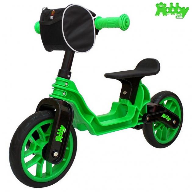 Беговел RT Hobby bike magestic kiwi black 6634