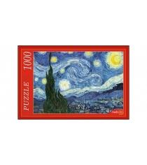 Пазлы Ван Гог Звёздная ночь 1000 эл Рыжий кот АЛ1000-7004