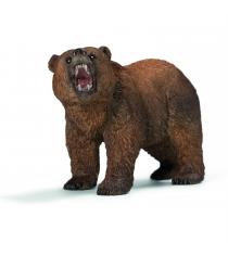 Фигурка Schleich Wild Life Медведь гризли длина 11.5 см 14685