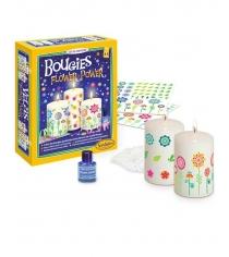 Набор для изготовления свечей Sentosphere Цветы 2353