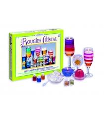 Набор для изготовления гелевых свечей Sentosphere Kit Creatif Кристалл 236