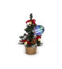 Декоративная елочка в горшочке с аксессуарами 20 см Северное сияние IT100270