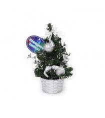 Декоративная елочка в горшочке 20 см Северное сияние IT100273