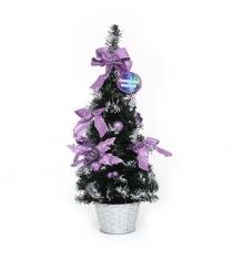 Декоративная елочка в горшочке 50 см Северное сияние IT100281