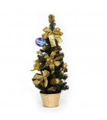 Декоративная новогодняя елка в горшочке 50 см Северное сияние IT100284