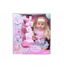 Функциональная кукла my sister звук пьет писает 43 см Shantou Gepai 317004-7