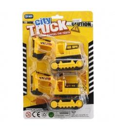 Набор из 2 инерционных экскаваторов city truck Shantou Gepai B1365641...