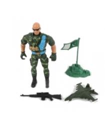 Фигурка военного с аксессуарами Shantou Gepai B1559939