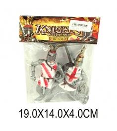 Набор фигурок рыцарь с оружием 2 шт