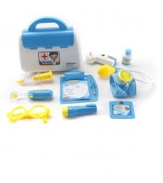 Игровой набор доктор синий 9 предметов Shantou Gepai 8006C...