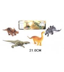 Набор долина динозавров 4 шт Shantou Gepai K146