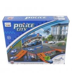 Игровой набор c 2 машинками police city полицейская станция Shantou Gepai P2088...