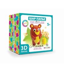 3D лепка Мишка Шар-папье В0268М