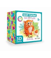 3D лепка Кот Шар-папье В0286К