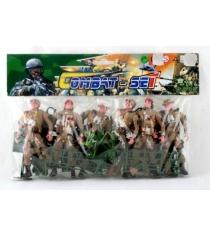 Военный набор combat set с 6 солдатами