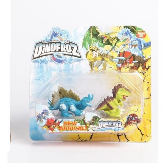 Набор динозавров dinofroz 2 шт
