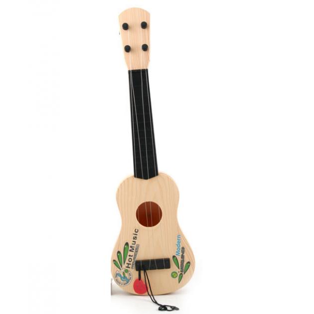 Гитара с рисунком 42 см