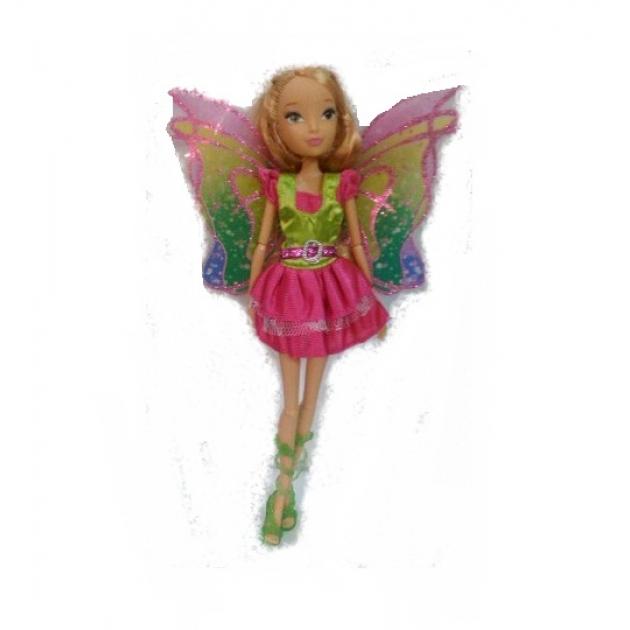 Кукла стань звездой фея в салатово розовом