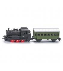 Металлическая модель Siku Локомотив с вагоном 1:120 1657
