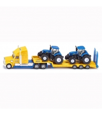 Тягач Siku New Holland с 2 тракторами 1:87 1805