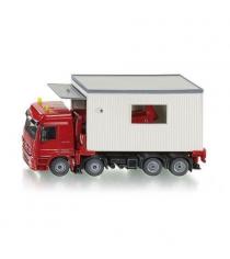Игрушечный транспортер Siku с гаражом Mercedes Actros 1:50 3544