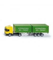 Масштабный грузовик Siku с контейнерами 1:50 3921