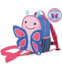 Рюкзак детский Skip Hop с поводком Бабочка SH 212202
