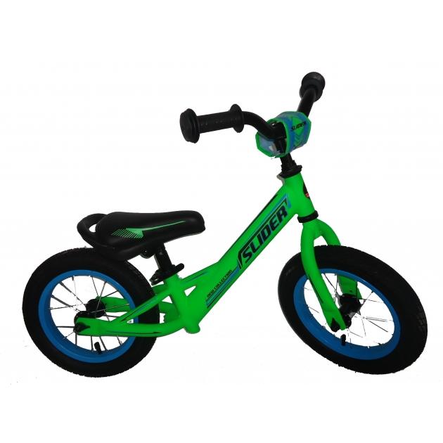 Детский беговел 12 матовый зеленый Slider IT101833
