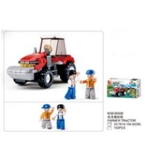 Конструктор фермерский трактор 103 детали Sluban M38-B0556...