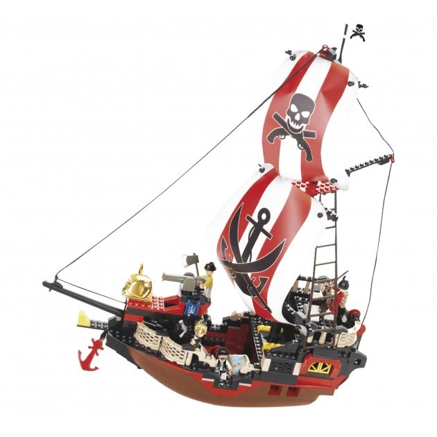 Конструктор пиратская серия мстительная королева морей Sluban Г17751