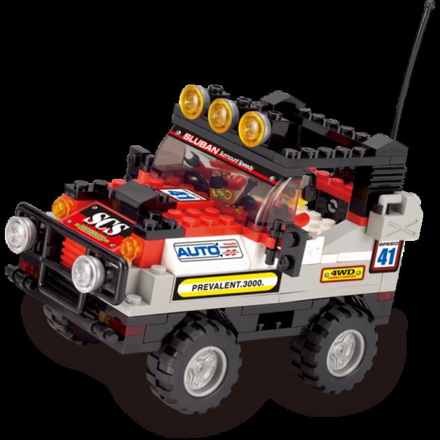 Конструктор внедорожник полноприводный автомобиль Sluban Г71974